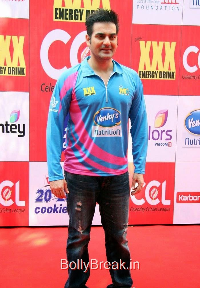 CCL:5 Mumbai Heroes Vs Veer Marathi Match, The Khan Family At CCL 5