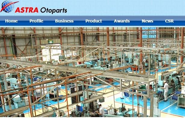 Daftar Nama Beberapa Perusahaan Otomotif; Astra Otoparts