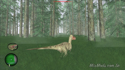 gta sa san andreas mod cretaceous runner game