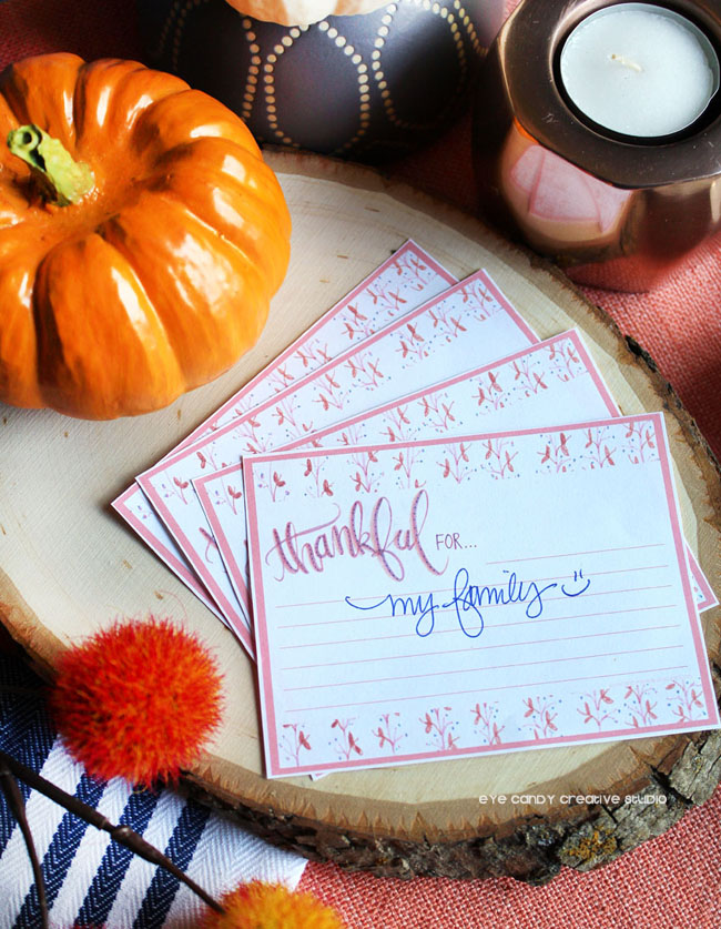 thankful cards, thanksgiving freebie, thanksgiving deor, thanksgiving