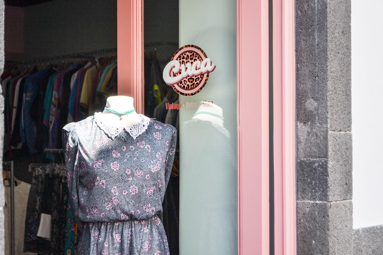 Cuca vintage retro shop, Funchal, Madeira