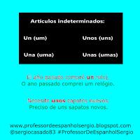 artigos indefinidos em espanhol, artigos em espanhol, artículos en espanol, dicas de espanhol, gramática espanhol, curso de espanhol, espanhol, aprender espanhol