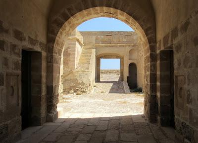 Castillo de San Felipe. Castillo de los Escullos de Cabo de Gata