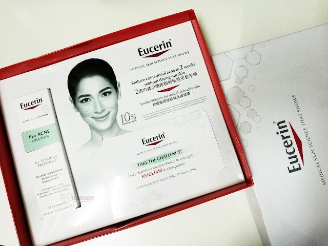 Kulit Bebas Jerawat Dalam Masa Dua Minggu  Dengan Formula Terbaharu Eucerin® ProACNE Solution A.I. Clearing Treatment