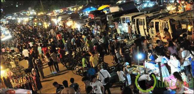 Pasar Malam Ratchada, Bangkok, Thailand