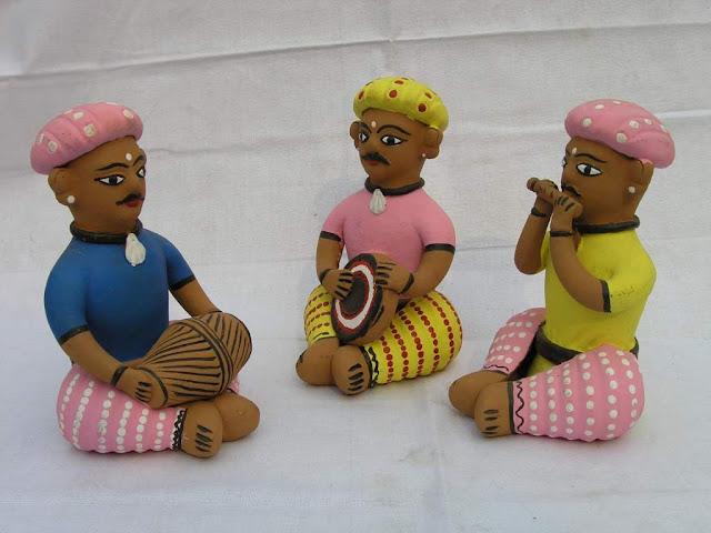 Clay toys from Orissa