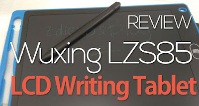 Review Wuxing LZS85 LCD Writing Tablet