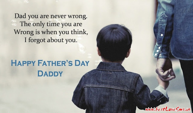 #25+ Best Quotes & Images Of Fathers Day 2017 From Son Daughter For Dad