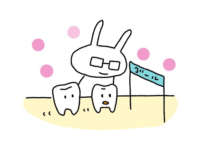矯正開始約9ヶ月 下の前歯が前に傾いている事と正中が揃って来た事