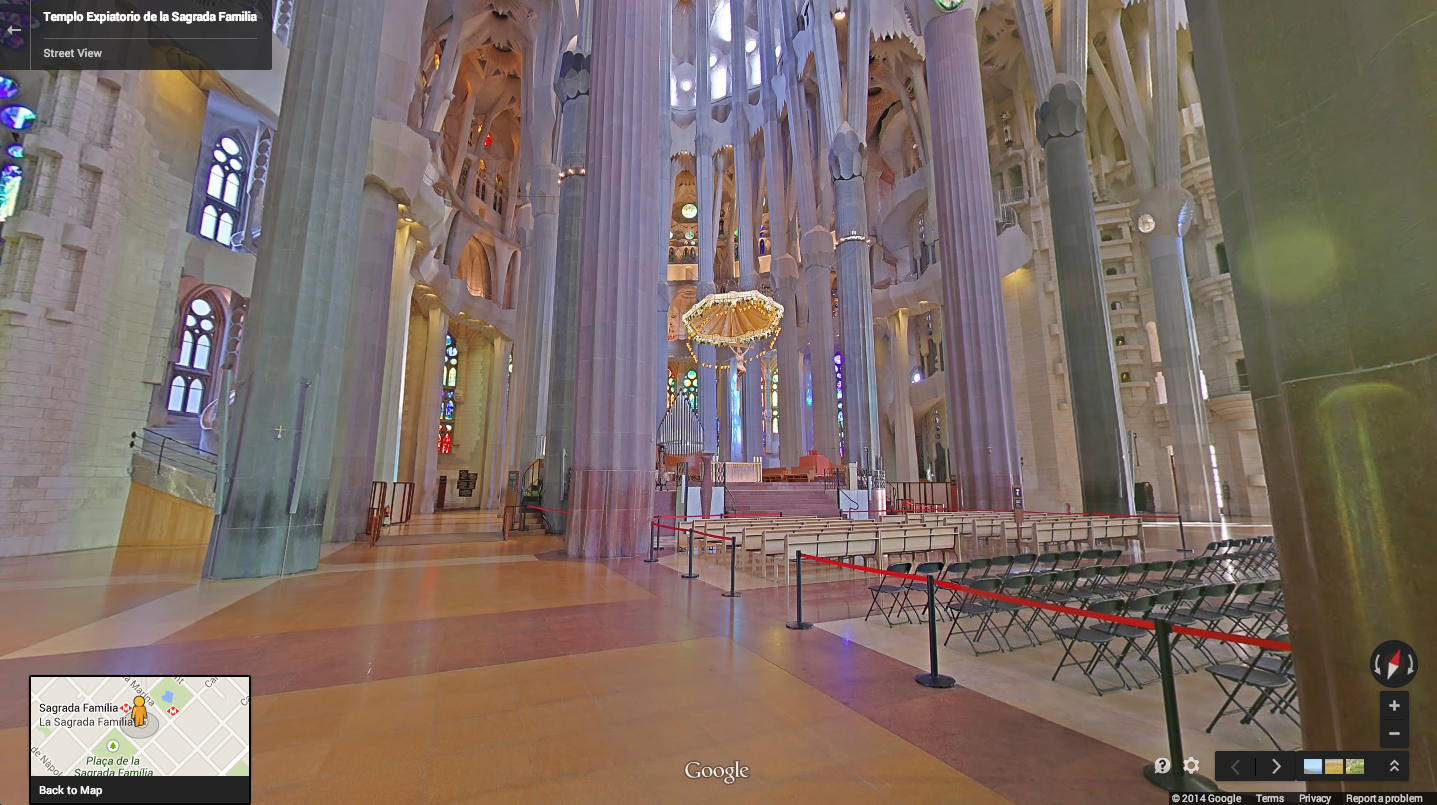 church of the sagrada familia Visit la sagrada familia in barcelona on a 15  and photos of viator's priority access: barcelona sagrada  everything he could see on the church,.