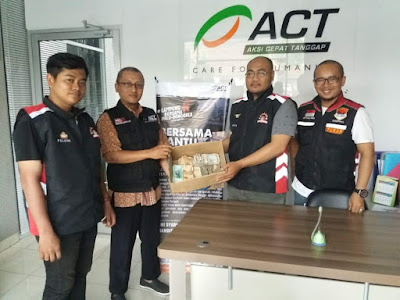 Gaspool dan ACT Lampung Berhasil Kumpulkan Dana Sebesar Rp 23.682.000 untuk Palu dan Donggala