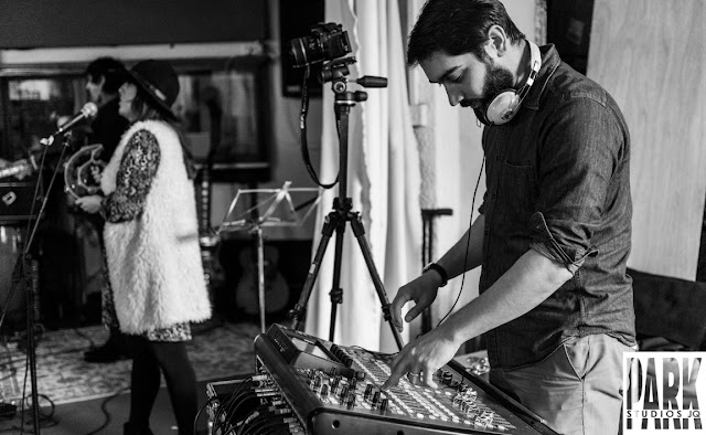 Brandy Row and the Coalition of Sound | Birmingham Recording Studio | Park Studios JQ | live mixing