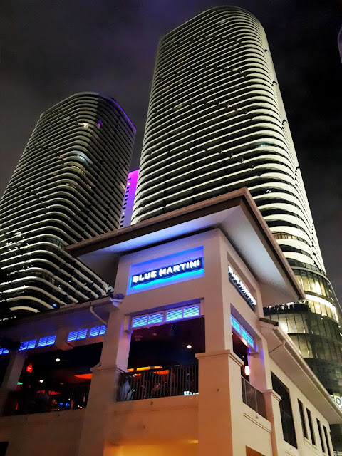 Club Blue Martini en la zona de Brickell- Downtown