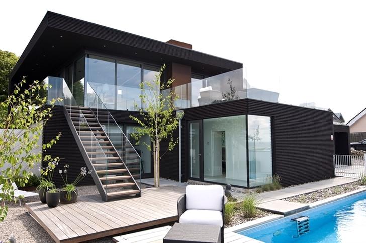World of Architecture: Modern Beach House With Minimalist ...