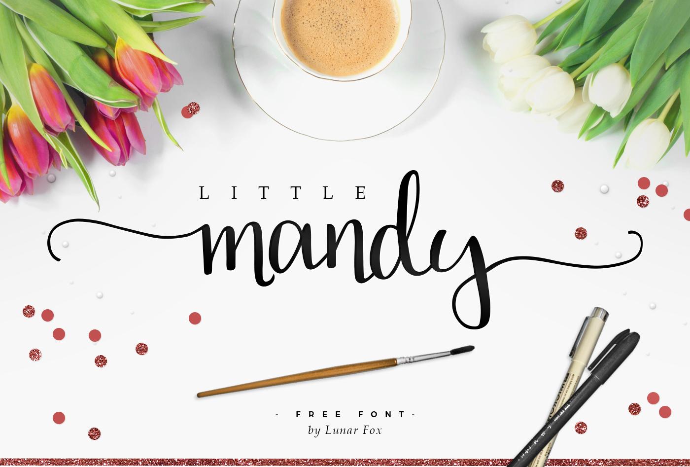 Little Mandy Script font Free Download 1