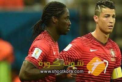 المنتخب البرتغالى لكرة القدم يحقق فوزا ثمينا على كرواتيا ويمنحه التأهل الى الدور ربع النهائى من بطولة امم اوروبا 2016 بفرنسا