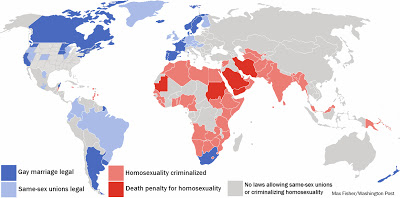 GAY RIGHTS AROUND THE GLOBE ...