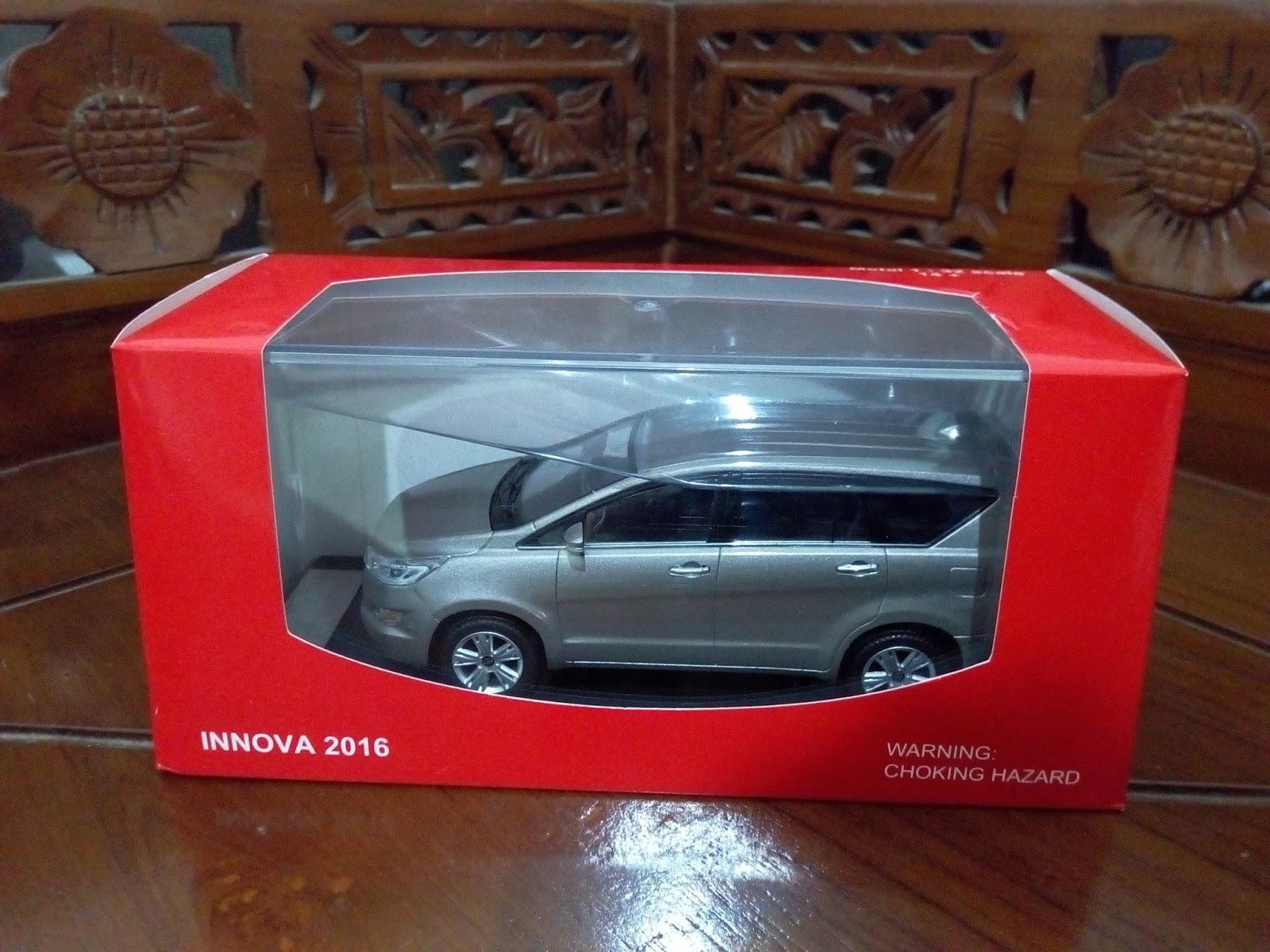 Diecast Grand New Avanza Type G 2017 Kijang Innova 2016 Miniatur Mobil Toyota