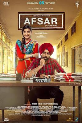 Afsar (2018) Punjabi 720p HDRip x264 AAC 5.1 ESubs – 990MB