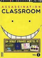 assassination classroom série dvd