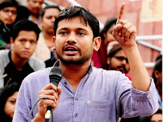 aisf-protest-for-kanhaiya-jignesh-arrest