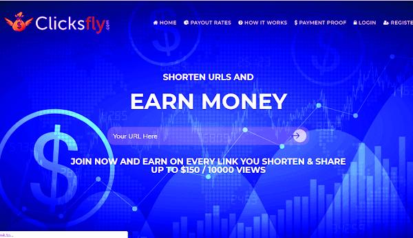 Clicksfly can make $ 20 perday
