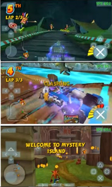 download Game Crash Tag Team Racing(CTR) CSO