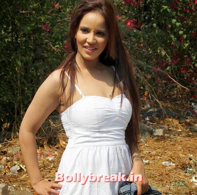 Priti Sharma, Pics of Priti Sharma in Hume Toh Loot Liya Film Shoot