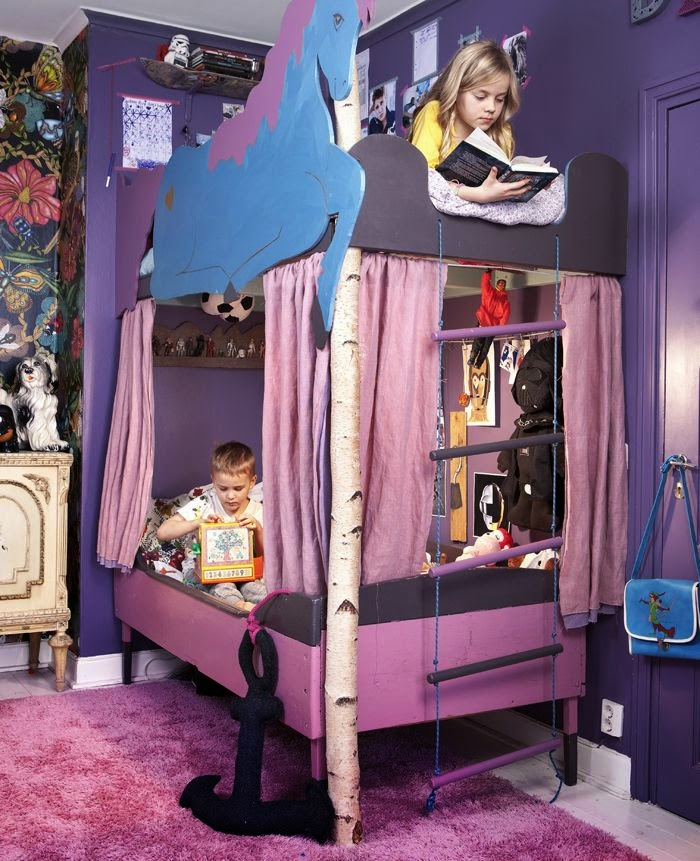 The Boo And The Boy Kids Rooms On Instagram: The Boo And The Boy: Eclectic Kids' Rooms