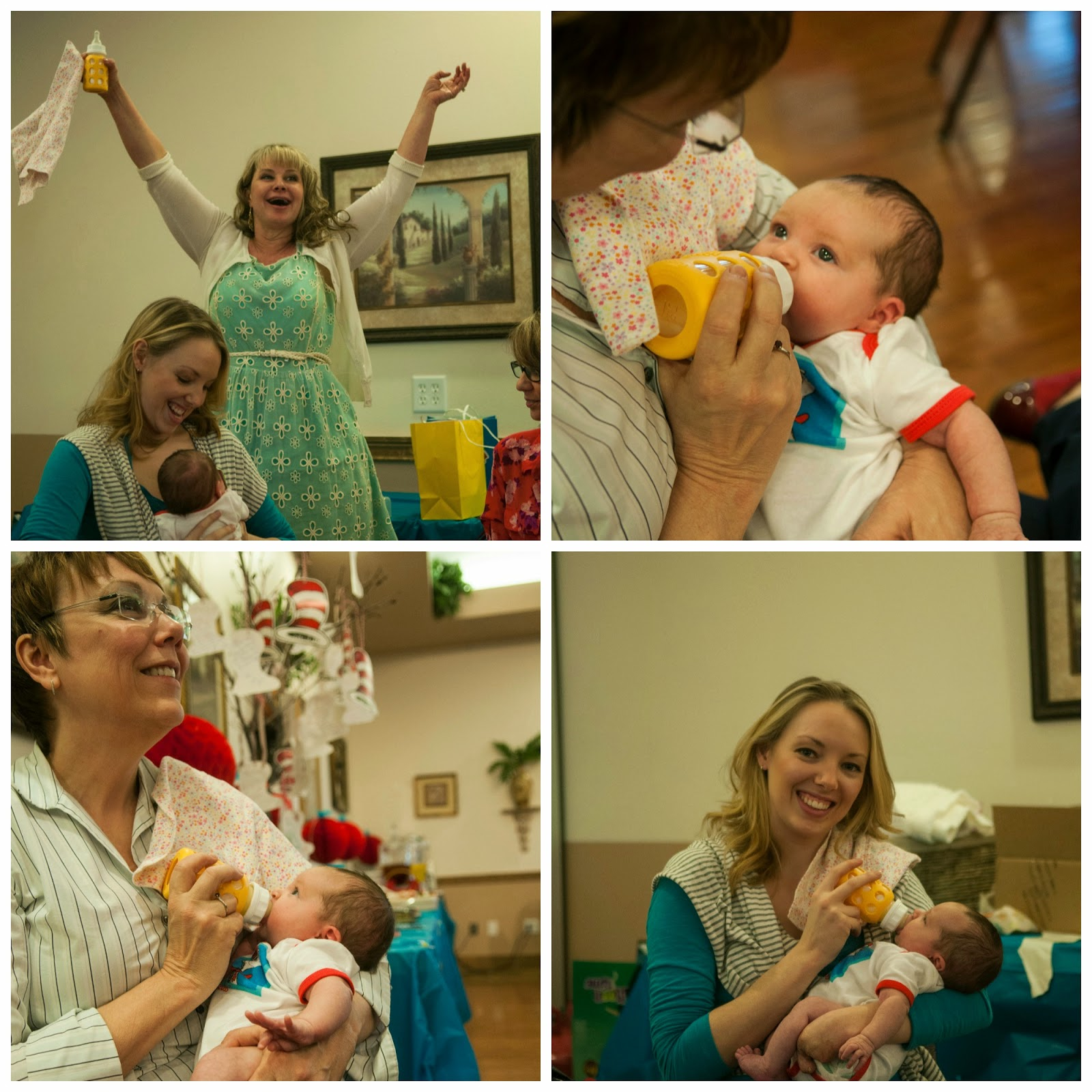 Our Dr. Suess themed adoption baby shower!