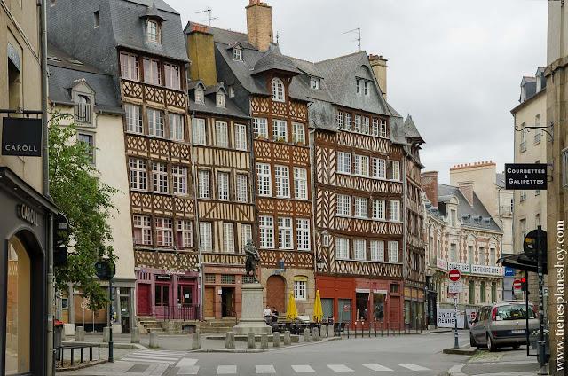 Blog viaje diario Bretaña Normandia Rennes