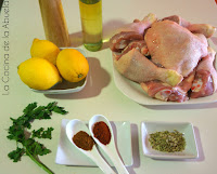 Receta de Pollo al Horno Marinado