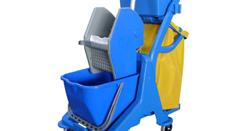 Troli Tempat Penyimpanan Alat Kebersihan Lantai Beroda