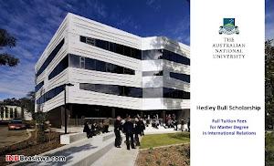 Beasiswa S2 Hubungan Internasional di Australian National University