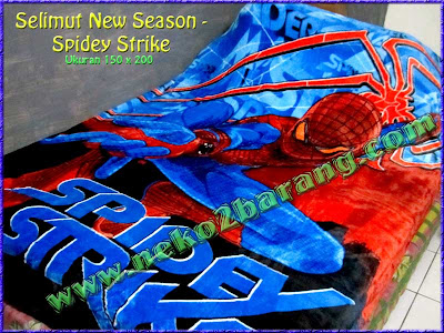 Selimut New Season - Spiderman
