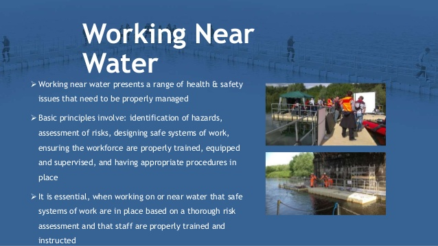 How Manage the Risk on Working near on Water and Prevent Accedient?