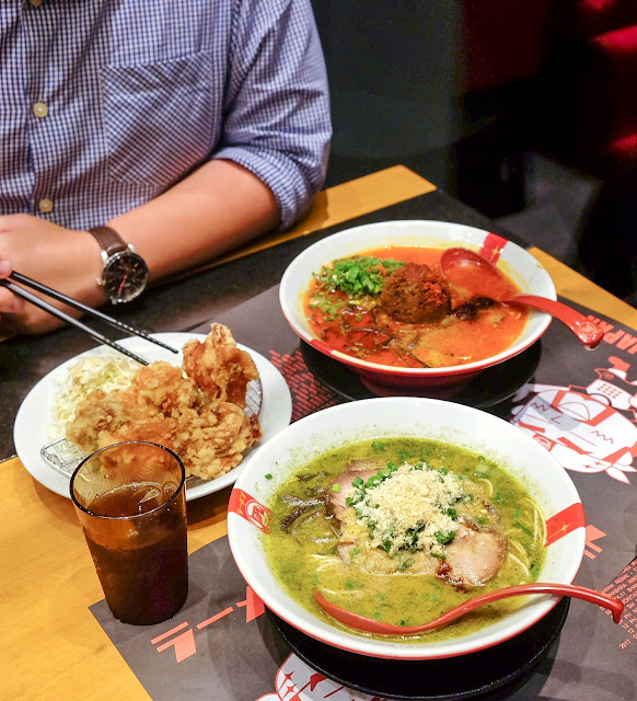 RAMEN NAGI - The Best Ramen in SINGAPORE at Suntec City!
