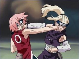 ซากุระ vs อิโนะ