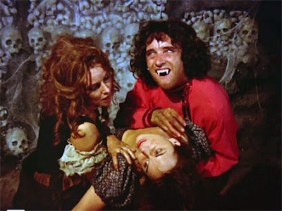 Adrienne Corri and Anthony Higgins in Vampire Circus (1972)