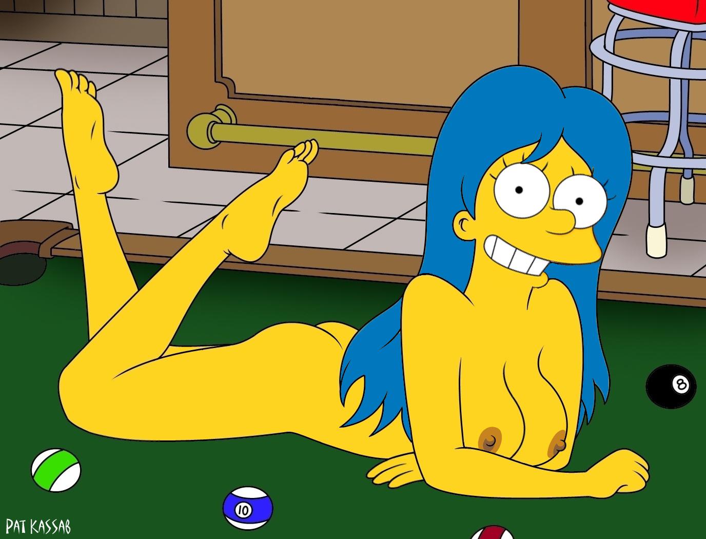 Marge naked