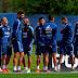 Sampaoli metió dos cambios en el último entrenamiento de la Selección antes de partir a Ecuador