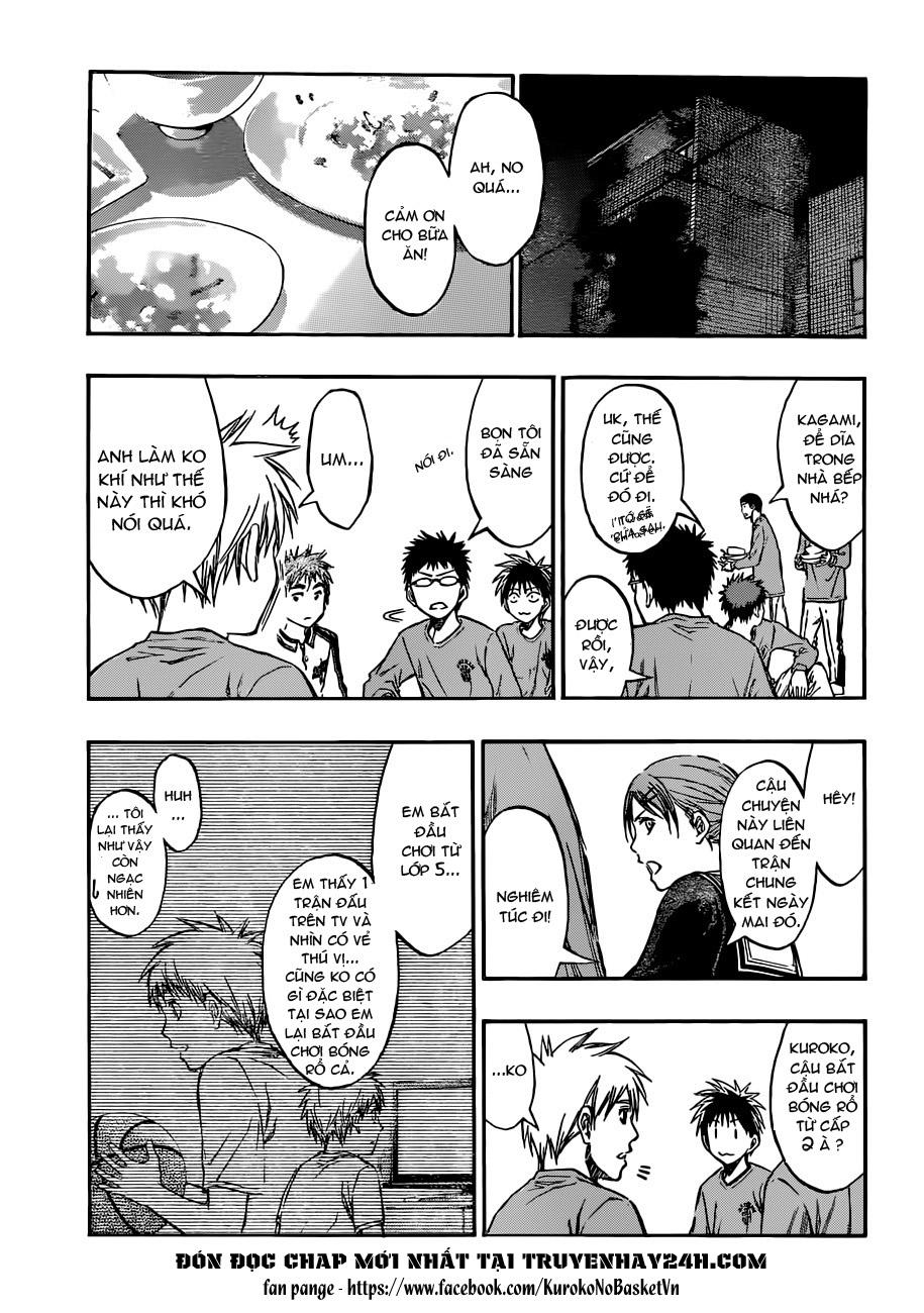Kuroko No Basket chap 204 trang 4