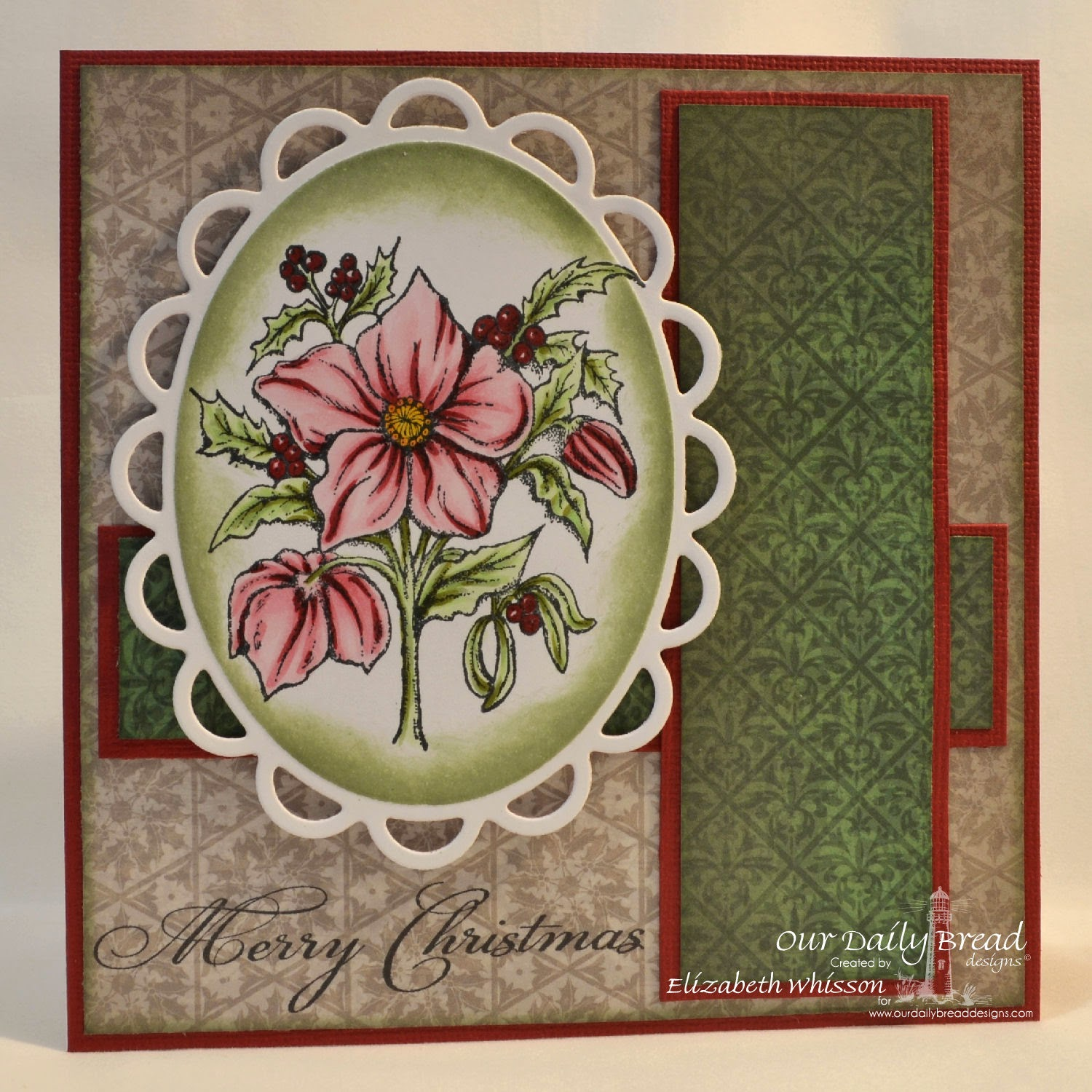 Our Daily Bread Designs, Christmas Rose, Christmas Verses, Christmas Paper Collection 2013, designed by Elizabeth Whisson