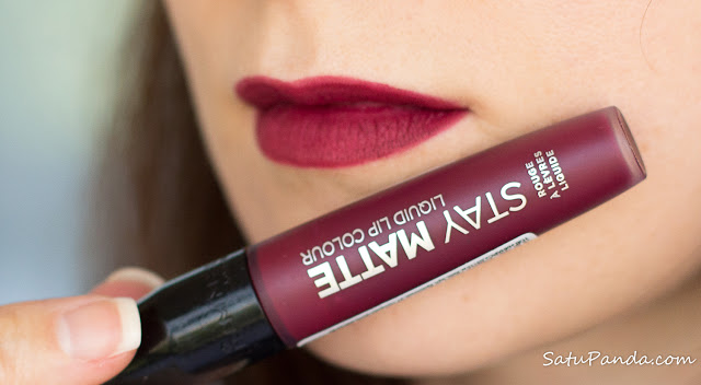 Rimmel Stay Matte Liquid Lip Colour 810 Plum This Show