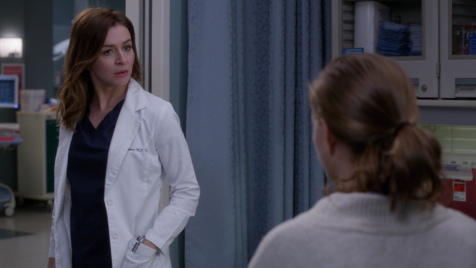 Grey's Anatomy 15x04 Momma Knows Best Amelia