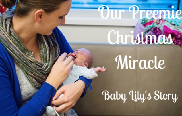 {Guest Post} Our Preemie Christmas Miracle