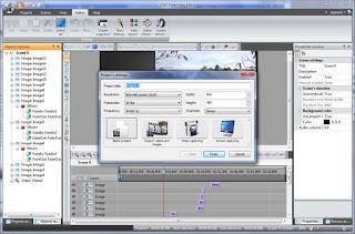 интерфейс видеоредактора VSDC