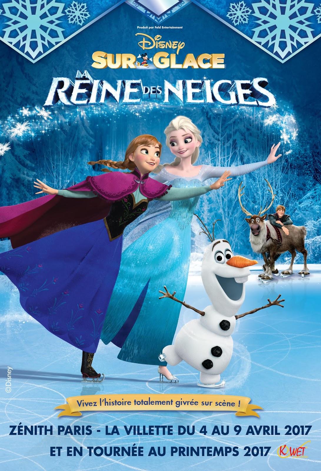 Disney sur glace la reine des neiges julesetmoa - Disney reine des neige ...