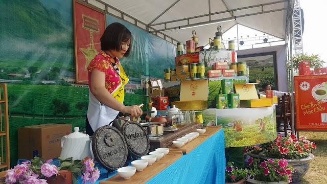 Moc Chau Tea Festival opens 2
