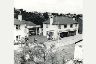 Central Garage of Brixham - new showroom 1965